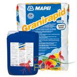 Клей для облицовки керамической плиткой, мозаикой и натуральным камнем Mapei Granirapid white