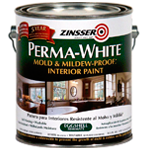 Краска интерьерная для стен Zinsser Perma-White Eggshell Interior Paint