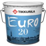 Интерьерная краска Tikkurila Euro 20