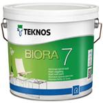 Матовая краска для стен Teknos Biora 7