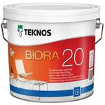 Полуматовая краска для стен Teknos Biora 20