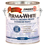 Фасадная краска Zinsser Perma-White Satin Exterior Paint