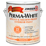 Фасадная краска Zinsser Perma-White Semi-Gloss Exterior Paint