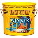 Универсальная шелковисто-матовая эмаль Symphony Winner