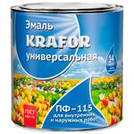 Эмаль универсальная ПФ–115 Krafor