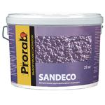 Фактурная краска с эффектом песка Sandeco Prorab