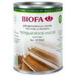 Твердое матовое воск-масло Biofa 9062