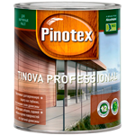 Пропитка для древесины Pinotex Tinova Professional