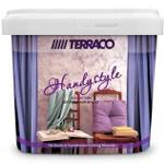Перламутровая полупрозрачная краска-лазурь Terraco Handy style