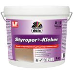 Стиропоровый клей для потолочного плинтуса Dufa Styropor Kleber D18