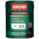 Защитное быстросохнущее покрытие Johnstones Quick Dry Satin Woodstain