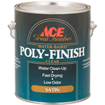 Лак для пола Ace Poly-Finish Great Finishes Water-Based