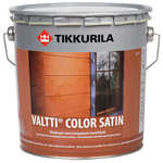 Лессирующий антисептик Tikkurila Valtti Color Satin (Тиккурила Валти Колор Сатин)