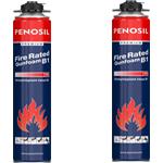 Противопожарная монтажная пена Penosil Fire Rated Gungoam B1