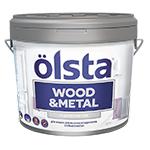 Краска по дереву и металлу Olsta Wood Metal