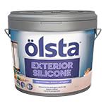 Фасадная силиконованя  краска Olsta Exterior Silicone