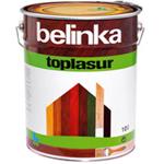 Декоративное лазурное покрытие для древесины Belinka Toplasur