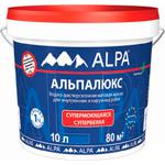 Интерьерная краска для стен и потолков Альпалюкс (Alpa)