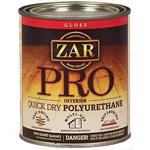 Быстросохнущий полиуретановый лак Zar Pro Quick Dry Polyurethane