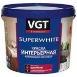Краска интерьерная для стен VGT Superwhite