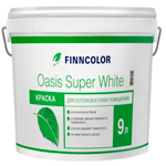 Краска для потолков Finncolor Oasis Super White