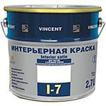 Интерьерная полуматовая краска Vincent I-7