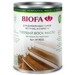 Твердое шелковисто-матовое воск-масло  Biofa 9032