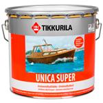 Лак яхтный полуглянцевый Tikkurila Unica Super (Тиккурила Уника Супер)