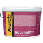 Декоративное покрытие Мелкорельефная шуба Prorab Rollerdeco