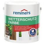 Атмосферостойкая краска для древесины Remmers Wetterschutz-Farbe