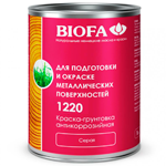 Антикоррозийная краска грунтовка для металла Biofa 1220