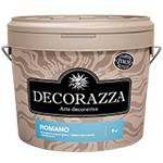 Decorazza Romano декоративное покрытие с эффектом камня травертина