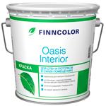 Краска для стен и потолков Finncolor Oasis Interior