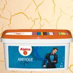 Лак с эффектом трещин Alpina Antique Effekt