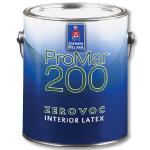Краска интерьерная ProMar 200 Interior Latex Flat Sherwin-Williams