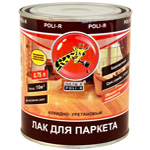 Лак для паркета Poli-R (полуматовый)