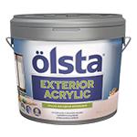 Акриловая фасадная краска Olsta Exterior Acrilic