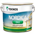 Краска для деревянных домов Teknos Nordica Eko