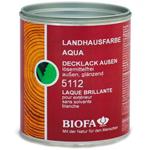 Белая краска для внешних работ Biofa 5112