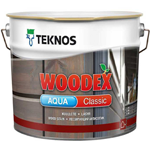 Лессирующий антисептик Teknos Woodex Aqua Classic