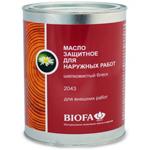 Масло защитное с антисептиком Biofa 2043